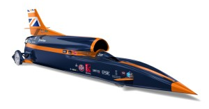 BLOODHOUND Supersonic Car (Medium)