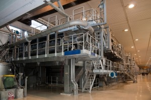 Paper and pulp mill - Fourdrinier Machine